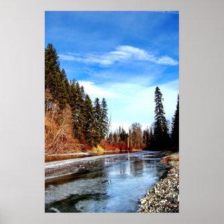 Frozen creek poster