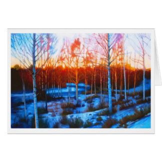 Frozen Dalarna Stream Card