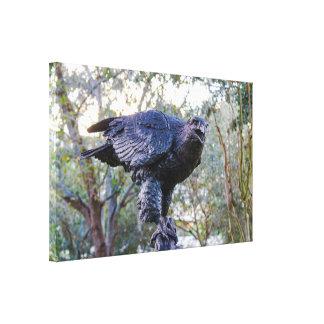 Frozen Eagle Canvas Print