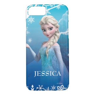 Frozen | Elsa Over the Shoulder Smirk iPhone 7 Case