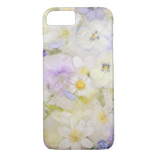 Frozen flowers iPhone 7 case