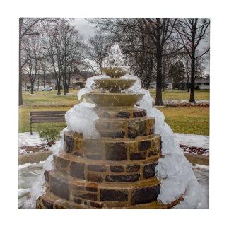 Frozen Fountain Tile