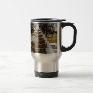 Frozen Fountain Travel Mug