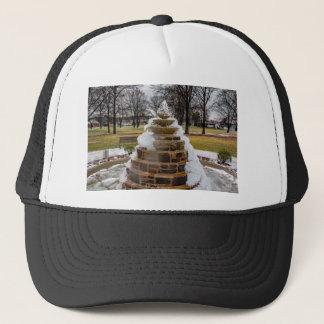Frozen Fountain Trucker Hat