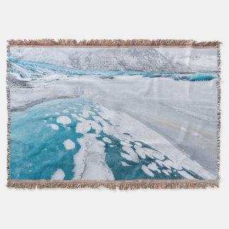 Frozen glacier ice, Iceland
