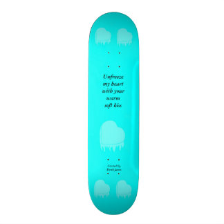 Frozen Heart Skateboard