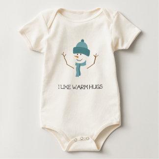 Frozen - I like warm hugs Baby Bodysuit