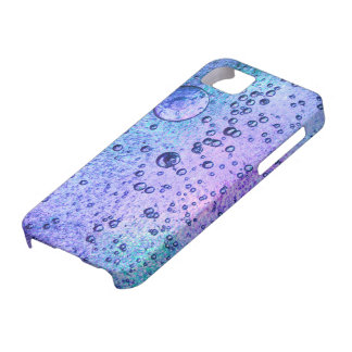 Frozen ice background with pink and blue colours iPhone 5 cases