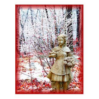 Frozen In Time Postcard