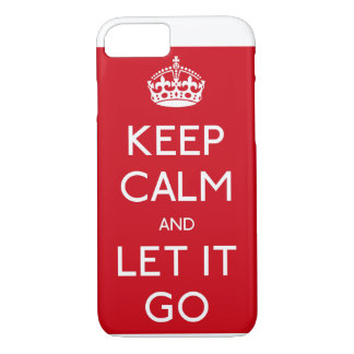 Frozen Keep Calm and Let it Go IPhone case