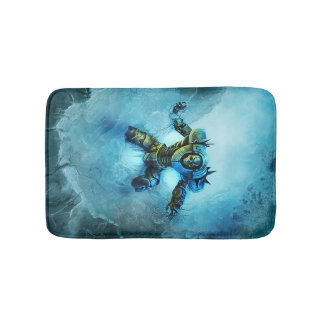 Frozen Knight bath mat Bath Mats