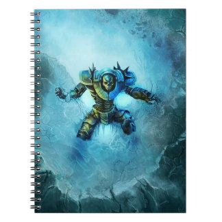 Frozen knight notebook
