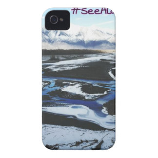 Frozen Knik River Case-Mate iPhone 4 Cases