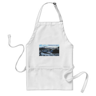 Frozen Knik River Standard Apron