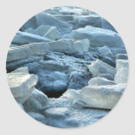 frozen lake sticker