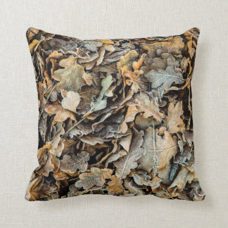 Frozen Leaves Cushion