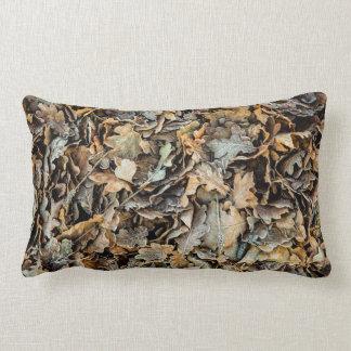 Frozen leaves lumbar cushion