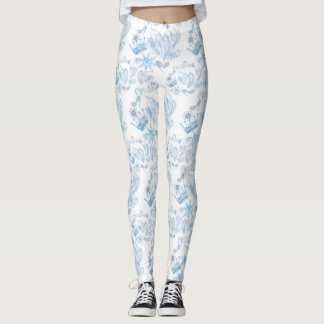Frozen Pattern Leggings
