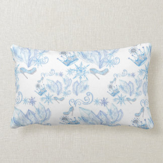 Frozen Pattern Lumbar Cushion