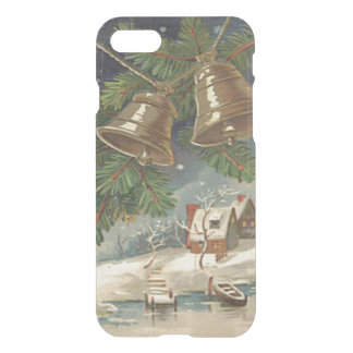 Frozen Pond Bell Evergreen Snow iPhone 7 Case