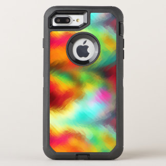 Frozen Rainbow Abstract Pattern OtterBox Defender iPhone 7 Plus Case