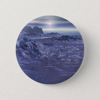 Frozen Sea of Neptune 6 Cm Round Badge