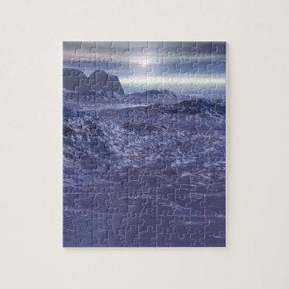 Frozen Sea of Neptune Jigsaw Puzzle