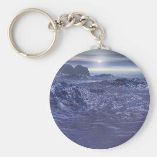 Frozen Sea of Neptune Key Ring