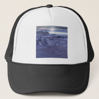 Frozen Sea of Neptune Trucker Hat