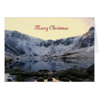 Frozen snowdonia card