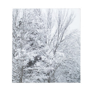 Frozen Trees Notepad