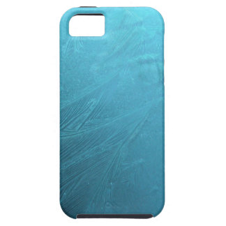 Frozen Water Ice Blue Frost Chic Winter Metallic Case For The iPhone 5