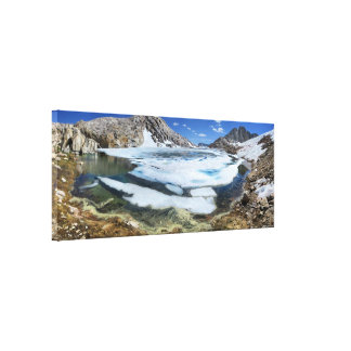 Frozen White Bear Lake - Sierra Canvas Print