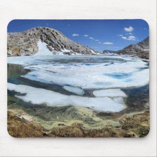 Frozen White Bear Lake - Sierra Mouse Pad
