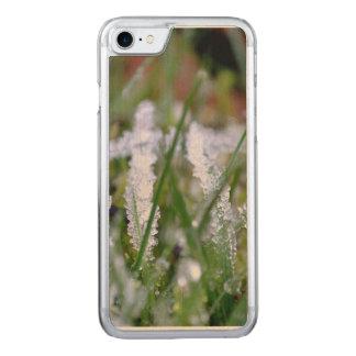 Frozen Winter Grass Carved iPhone 7 Case