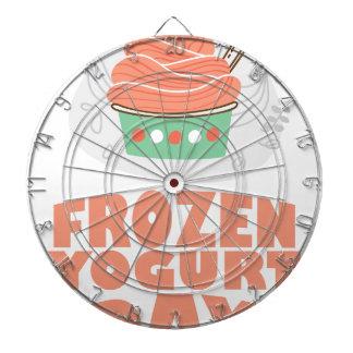 Frozen Yogurt Day - Appreciation Day Dartboard