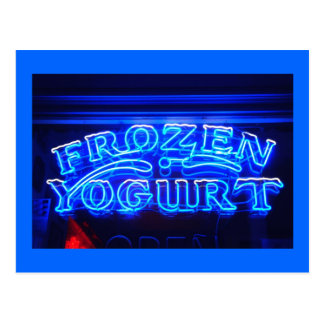 Frozen Yogurt in Florence Postcard
