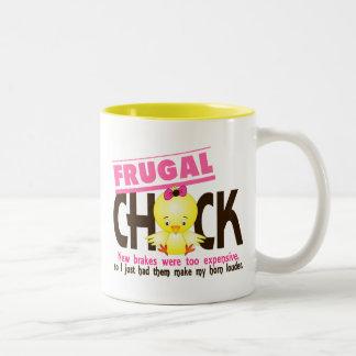 Frugal Chick Coffee Mugs