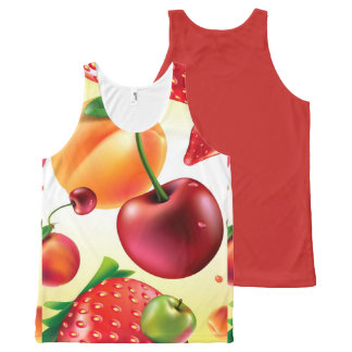 FRUIT All-Over PRINT SINGLET