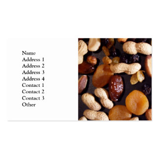 Fruit and Nut Pack Of Standard Business Cards