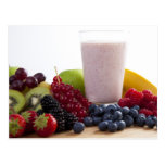 Fruit and Smoothie Postcard