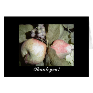 Fruit Arrangement Thank You Card