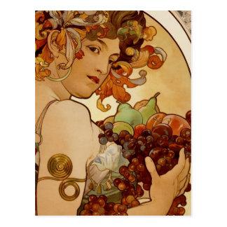 Fruit - Autumn 1897 Postcard