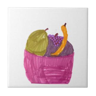 Fruit Basket Ceramic Tile