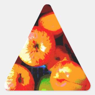 Fruit Basket Triangle Sticker