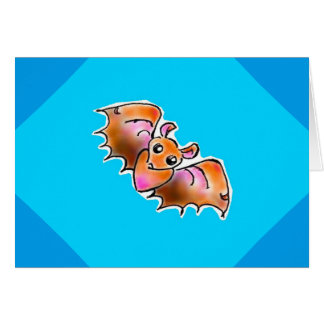 Fruit bat card