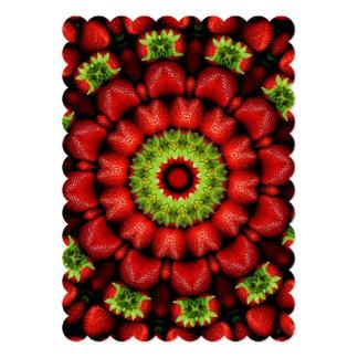 FRUIT BOHEMIAN KALEIDOSCOPIC GEOMETRIC MANDALA CARD
