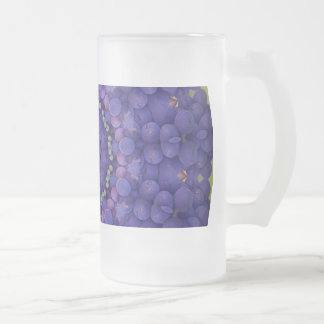 FRUIT BOHEMIAN KALEIDOSCOPIC GEOMETRIC MANDALA FROSTED GLASS BEER MUG
