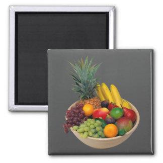 Fruit Bowl Refrigerator Magnet