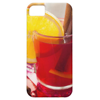 Fruit citrus tea with cinnamon and orange barely there iPhone 5 case